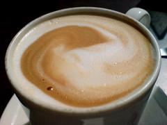 hong kong-style milk tea(0.0), salep(0.0), espresso(1.0), cappuccino(1.0), cuban espresso(1.0), flat white(1.0), cup(1.0), mocaccino(1.0), cortado(1.0), coffee milk(1.0), caf㩠au lait(1.0), coffee(1.0), ristretto(1.0), caff㨠macchiato(1.0), caff㨠americano(1.0), drink(1.0), latte(1.0), caffeine(1.0),