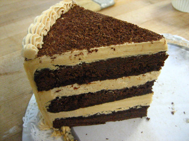 peanut butter chocolate fudge cake | back door bakery | By: megpi ...