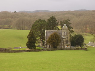 Far Sawrey church