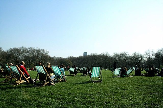 Soaking up the sun in Green Park | Flickr - Photo Sharing!