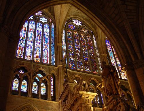 vidrieras de la catedral de leon by Emilio del Prado