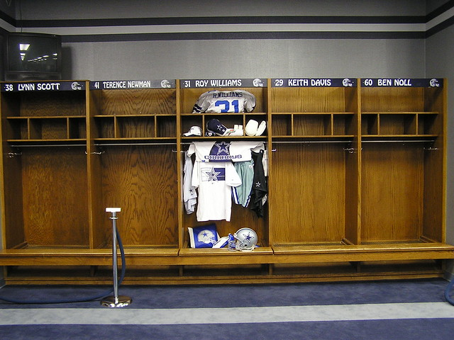 Dallas Cowboys Locker Room Steelers Dez
