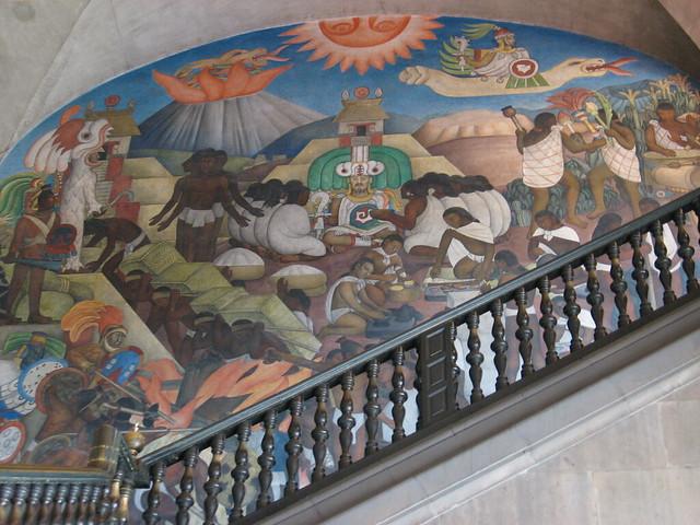 Diego rivera mural mexico city flickr photo sharing for Mural de rivera