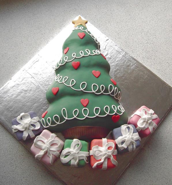christmas tree cake - photo #20