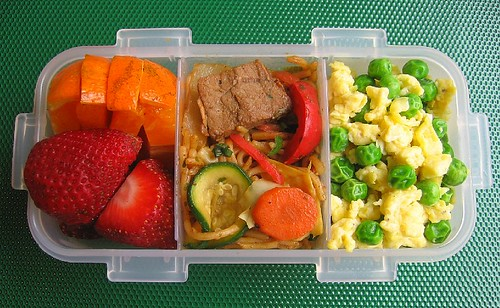 peas and egg scramble lunches lunch in a box building a better bento. Black Bedroom Furniture Sets. Home Design Ideas