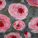 Vintage Flannel Rose Fabric