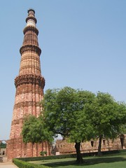 Qutub Minar by Salt Water