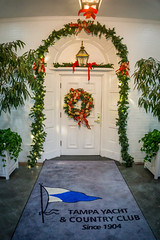 Christmas at the Tampa Yacht Club