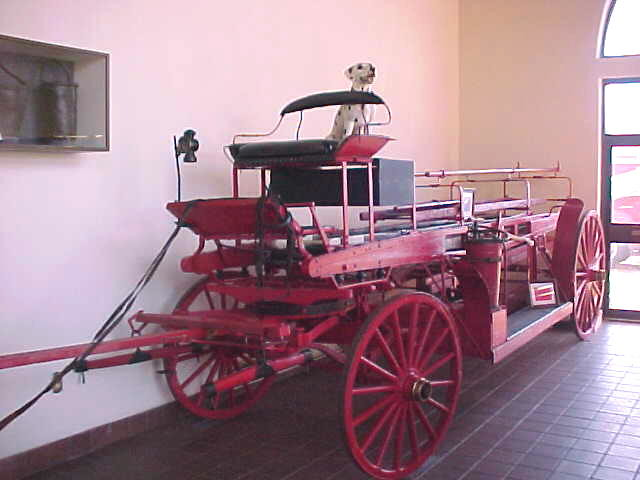 Anderson Fire Dept Old Fire Truck Circa 1800s Flickr