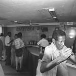 Men at a Cafeteria - Havana, Cuba