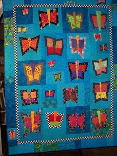 Butterflies for Zoe--quilt