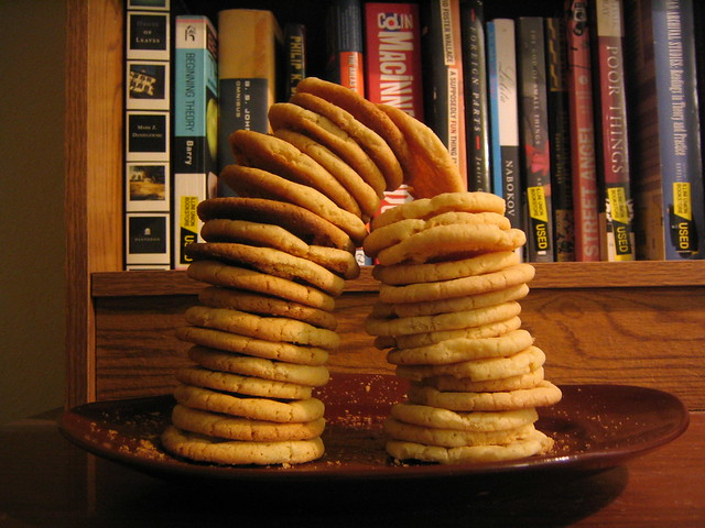 cookies do not always wish to remain stacked.