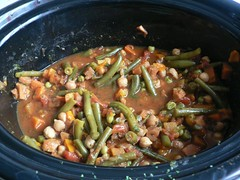 Moroccan-Inspired Vegetable and Chickpea Stew 001