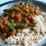 Moroccan-Inspired Vegetable and Chickpea Stew