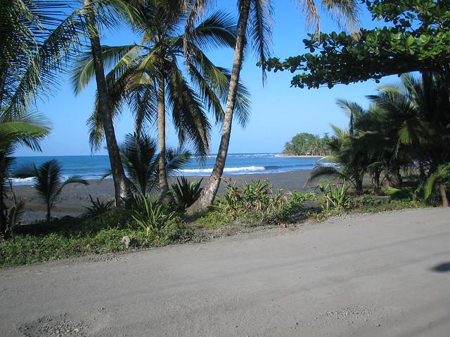 Carribean beach costa rica flickr photo sharing for Black sand beaches costa rica