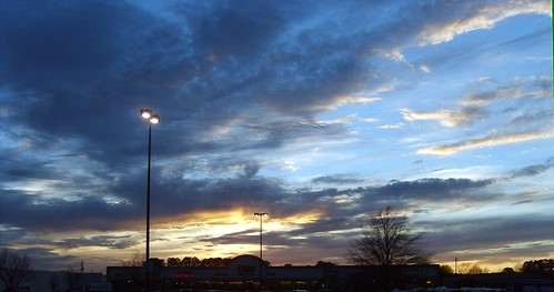 sunset clouds spring cato greenvillenc