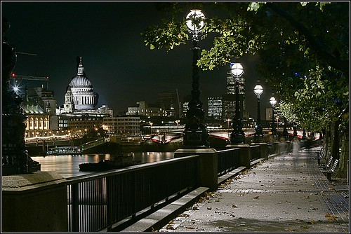 Southbank London H0X6781 by Merv Colton