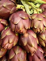 shallot(0.0), thistle(0.0), plant(0.0), fruit(0.0), food(0.0), vegetable(1.0), artichoke(1.0), produce(1.0),
