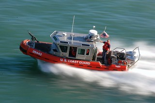 Coast Guard Speed Boat at 1/15""