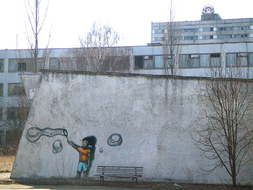 Pripyat graffiti