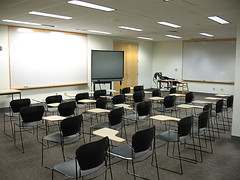 Classroom by Valley Library (Oregon State University)