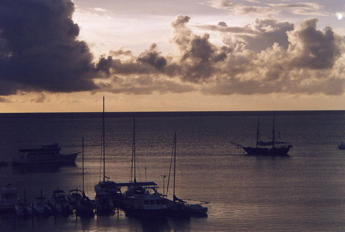 sea paisajes landscape atardecer mar colombia cielo isla islas sanandres sunsent supershot