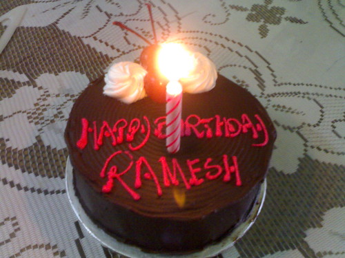 Cake Images Ramesh : Happy Birthday To Me Salpet-Online