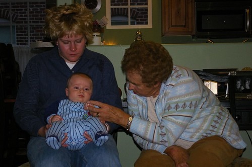 Grandma, Haley, and Elliott