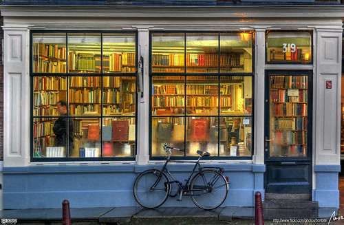 Bookstore in Amsterdam
