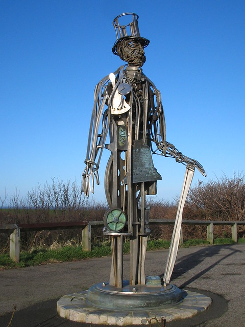 Henry Pease Sculpture Saltburn 1