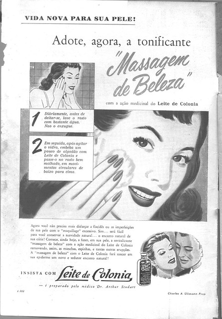 Fon Fon, No. 2446, 20 February 1954 - back cover
