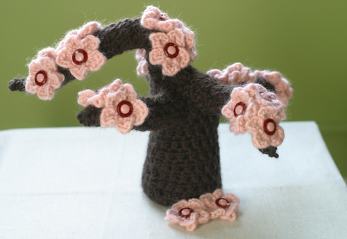 Crocheted Sakura