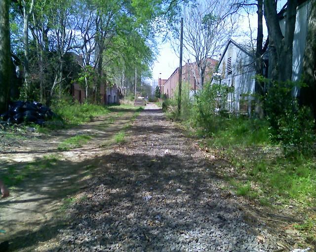 Old railroad tracks in augusta ga flickr photo sharing