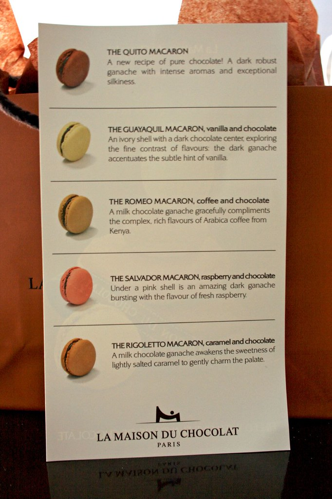 In search of the french macaron in nyc the wandering eater for Macarons la maison du chocolat