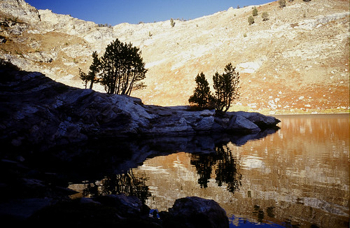 Lamoille Lake reflections