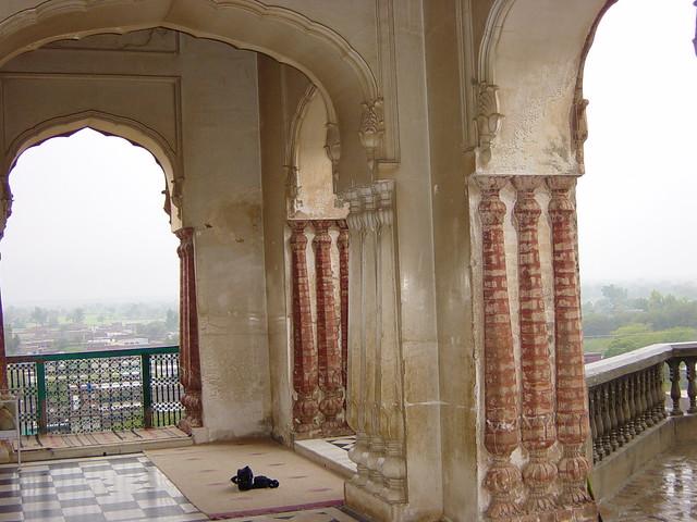 INSIDE THE TOMB OF HAIDER ALI SHAH; JALALPUR SHARIF, District Jhelum, Punjab- Pakistan