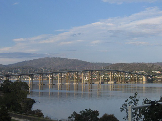 Bridge over Derwent River