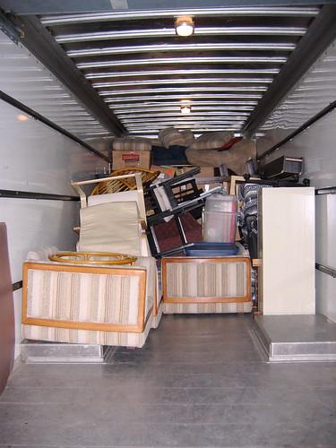 Half Full Moving Van