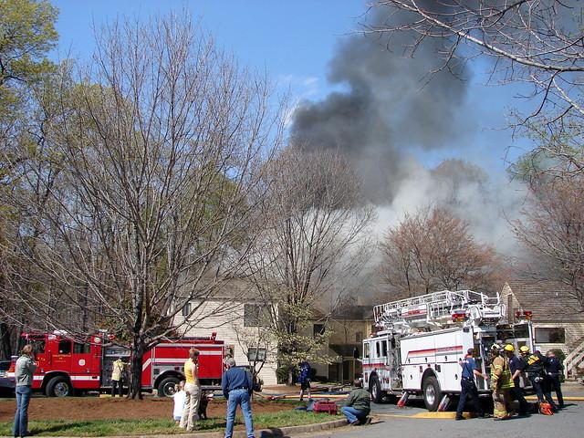 Neighborhood fire