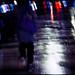 夜。燈雨。夢遊者   night. raining neon. noctambulism... by ☀Solar ikon☀