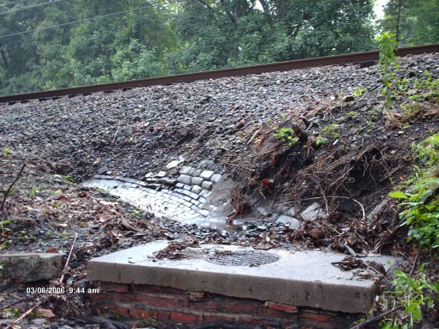 June 2006- storm debris