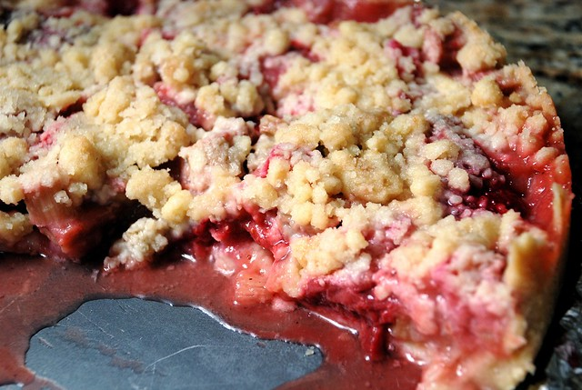 Strawberry Rhubarb Crumble Pie | Flickr - Photo Sharing!