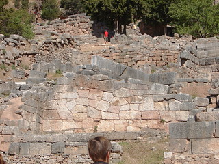 Polygonal Masonry, Sanctuary of Apollo at Delphi