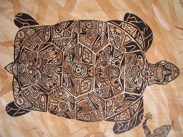 Coffee & Tattoo (tartaruga) | Flickr - Photo Sharing!