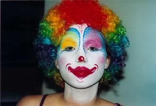 Moi en clown