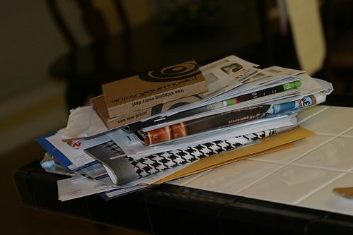 Pile o' mail