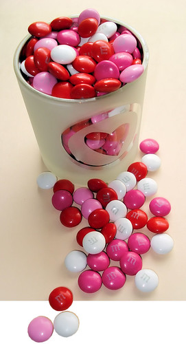 Heart and M&Ms