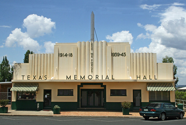 Art Deco The Rsl Club In Texas Most Certainly A 1930 S