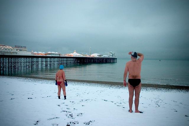 snowy swim #4