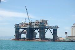 Angra dos Reis - Oil platform